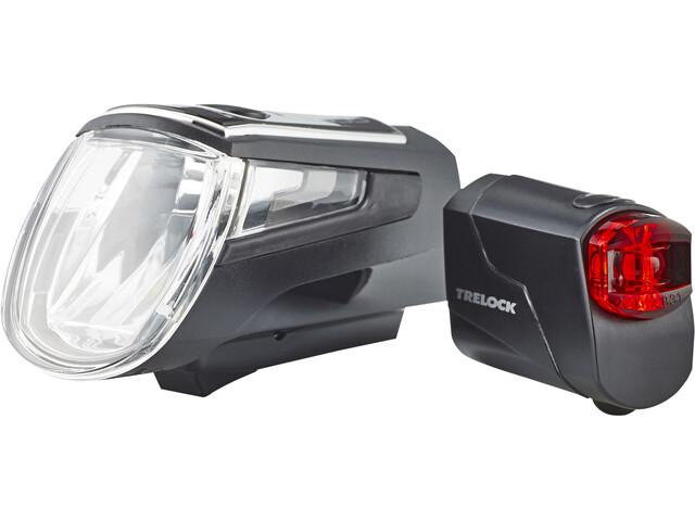 Trelock LS 560 I-GO Control/LS 72 Beleuchtungs Set schwarz
